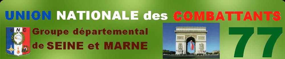 UNC77 : Site U.N.C. du département de Seine et Marne